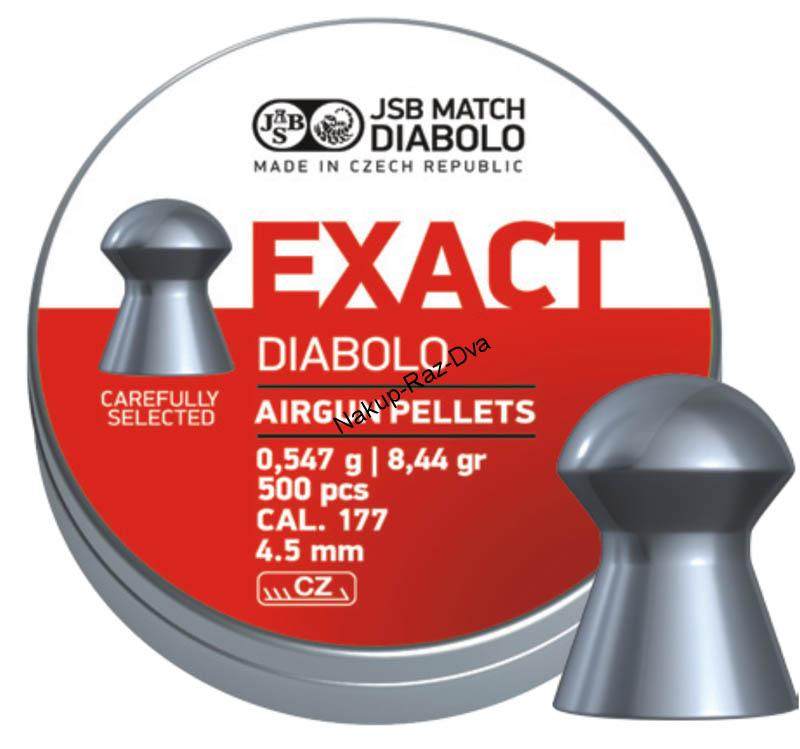 Diabolo JSB Exact 500ks.4,52mm