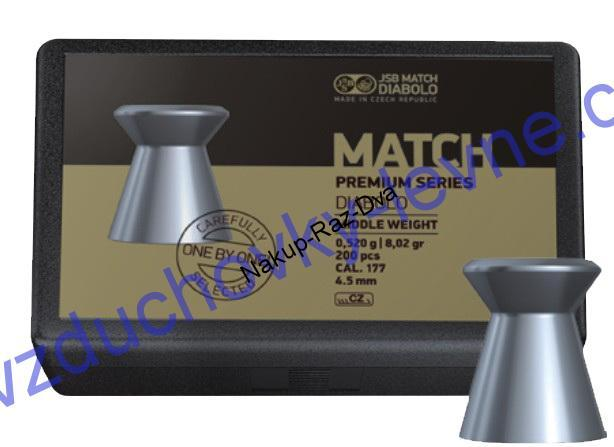 Diabolo JSB Premium Match Middle 200ks cal.4,51mm