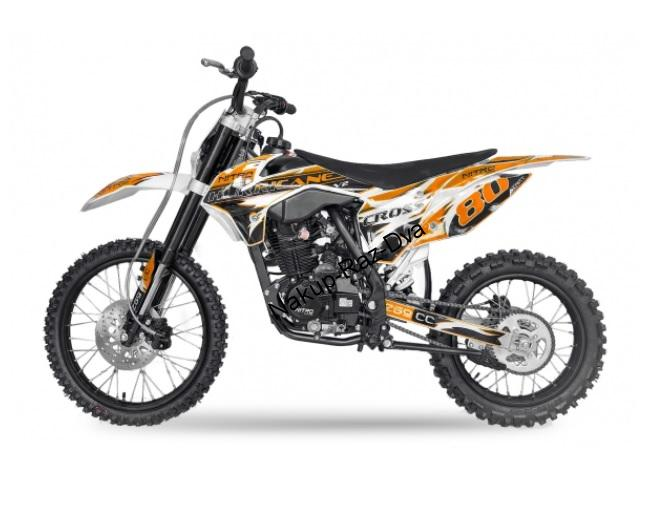 Pitbike Hurricane 150cc kola 19/16 orange