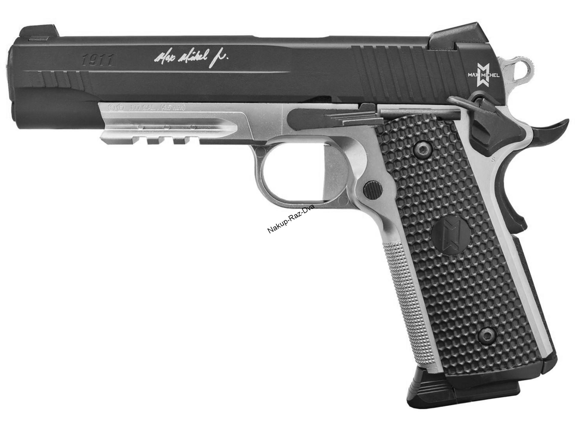 Vzduchová pistole Sig Sauer 911 Max Michel cal.4,5mm