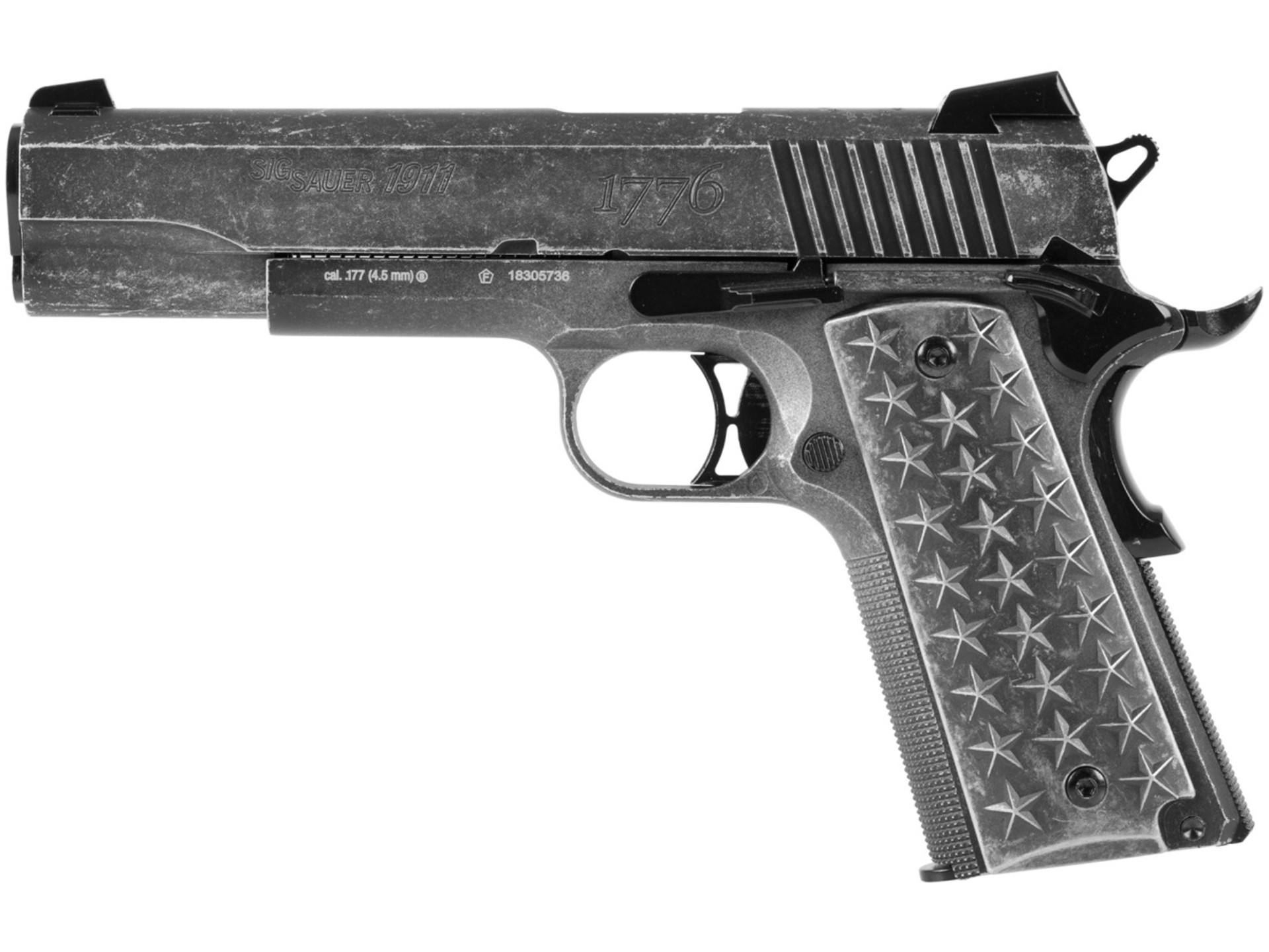 Vzduchová pistole Sig Sauer 911 We The People cal.4,5mm