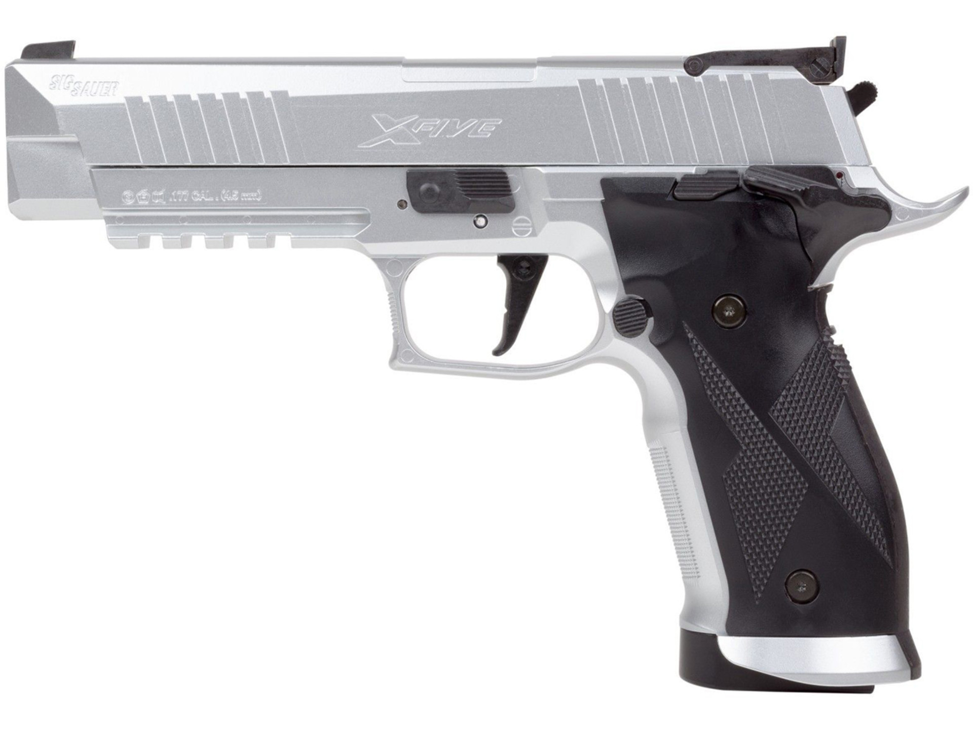 Vzduchová pistole Sig Sauer X-Five silver cal.4,5mm