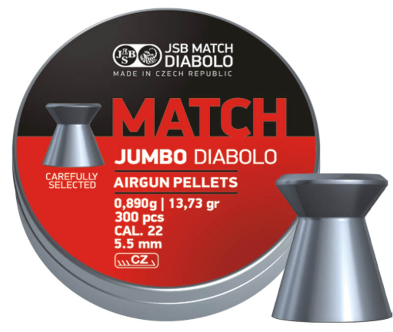 Diabolo JSB Jumbo Match 300ks cal.5,5mm