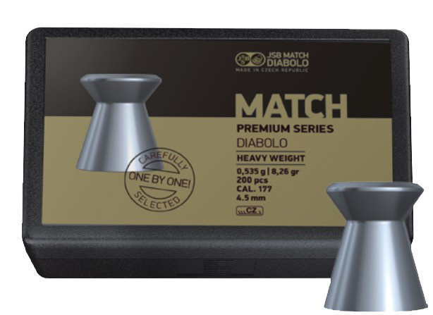 Diabolo JSB Premium Match Heavy 200ks cal.4,48mm