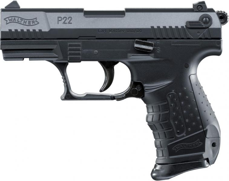 Airsoft Pistole Walther P22 černá ASG